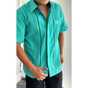 Guayabera Guayamisa Lino Flame Yucateca Camisa Z