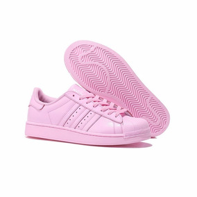adidas superstar mujer fucsia