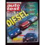 Auto Test 106 8/99 Vw Golf Tdi Peugeot 206 Xrd Ford Escort T