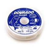 Linha Pesca Dourado Premium Nylon 0,60mm 17kg 100mt Branca