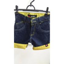 Kit Com 20 Bermudas Jeans Infantis