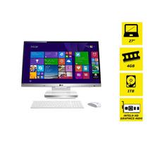 Computador All In One I5 27 Win 8.1 Lg 27v745 Recertificado