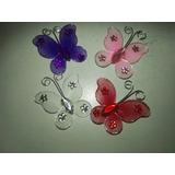 Oferta Mariposas 3.5cm De Tul Fiestas Decoraciones Ideas X15