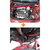 Barra Stress Amortiguadores + Barra Horquillas Chevy C1 Mpfi