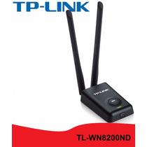Antena Wifi Rompemuros Potente Wn8200nd Tplink 300mbps