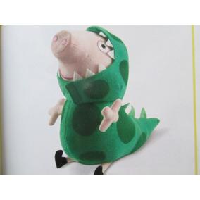Peppa Pig Peluche George Dinosaurio Con Sonido De La Tv