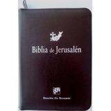 Biblia De Jerusalén Manual Md3 Ddb Con Cremallera
