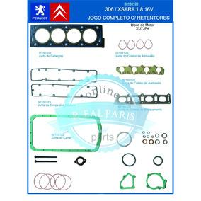 Jogo Juntas Motor Completo 306 Xsara 1.8 16v C/ Retentores