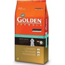 Ração Golden Cães Adulto Frango E Arroz Mini Bits 15 Kg
