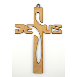25pz Cruz 30cm Jesus Recuerdo Bautizo Primera Comunion Art24