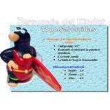 Huevo Kinder Coleccion Topos Mpg Bañera C/tabla Surf !!!