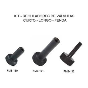 Regulador De Válvulas - 3 Peças - Moto Brasil