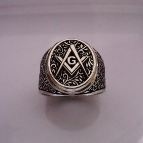 Anillo Mason Masonico Plata Rito Escoces