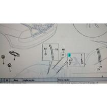 Acabamento Porta Traseira Vectra 97/ Interno Gm 93250069