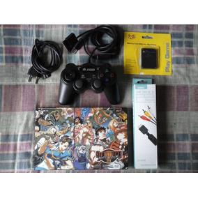 Playstation 2 Slim - Console Desbloqueado Japonês Completo