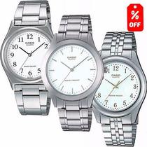 Reloj Casio Mtp1130- Extensible Acero- Cristal Mineral- Cfmx