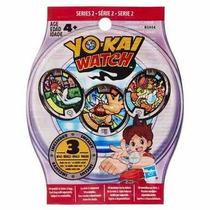 12 Medallas 4 Sobres Medallas Sorpresa Yo Kai Watch Serie 2