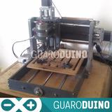 Fresadora Cnc Area:190x190x70mm Pcbs Arduino Pic Electronica
