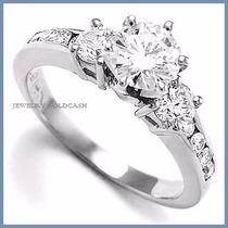 Anillo De Compromiso Diamante Natural .40ct Oro 18k -50% 212