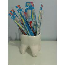 Muela Macetero En Ceramica Para El Odontologo Profesional.