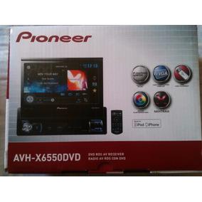 Pioneer Avh-x6550 Dvd, Pantalla Touch 7 , Usb, Apple,vga,