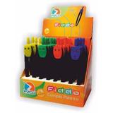Compas Ezco Fiddo Plastico Varios Colores X Unidad