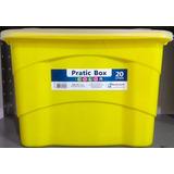 Caixa Plástica Organizadora Container Multiuso 20 Litros