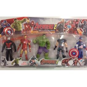 Bonecos Vingadores Ultron Kit Com 5 Bonecos (avengers) 15cm