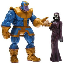 Juguete Figura Diamond Select Toys Marvel Select Thanos Acc