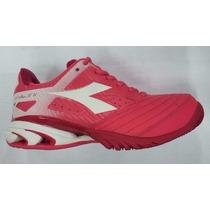 Zapatillas Diadora S. Star K Iv W Tenis Padel Voley Envios