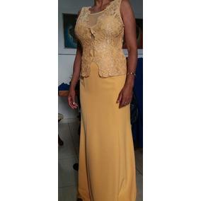Vestido Longo Madrinha Casamento - 38 A 46- Envio Imediato