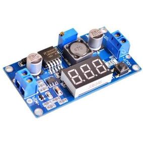 Módulo Step-down Regulador De Tensão Lm2596 C/ Display