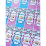 Candy Bar Plancha Stickers Personalizados Animales Shabby Ch