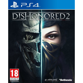 Dishonored 2 Ps4 Playstantion 4 Midia Física Pt Br