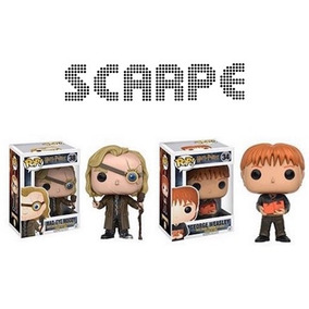 Funko Pop 2 Mad-eye + George Weasley Envio Gratis Harry