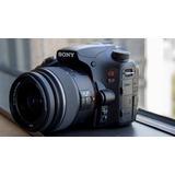 Sony Alpha A57 - Lente 18-55