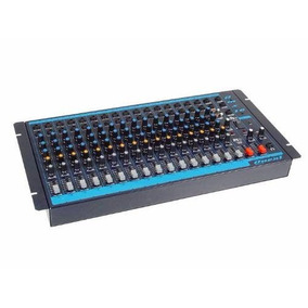 Mesa De Som Mixer Oneal Omx 16 Canais 1 Auxiliar Rca Bivolt