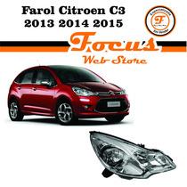 Farol Citroen C3 2012 2013 2014 2015 2016 (original) (novo)