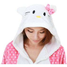 Pijama Enterito Kigurumi Hello Kitty Lunares Kawaii