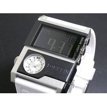 Relogio Diesel Dz7141 Analogico Digital Dual Time Branco