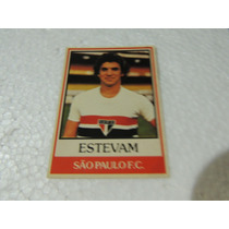 Card Original Estevam Nº 14 São Paulo Futebol Ping Pong