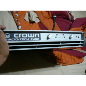 Crown Macro Tech 2400 Poder Original