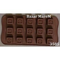 Molde De Silicona Para Chocolates Bombones Reposteria