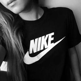 Franelas Nike Para Dama Caballero Y Niños De Algodón Unicolo