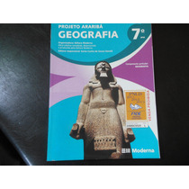 Projeto Araribá Geografia 7º Ano- Editora Moderna