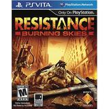 Resistance Burning Skies Ps Vita - Juego Fisico - Prophone