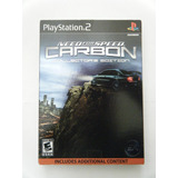 Need For Speed Carbon Collector´s Edition Ps2