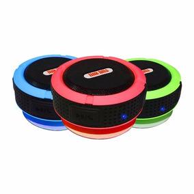 Bocina Usb Mp3 Control Sd Aux Stereo Fm Recargable Colores
