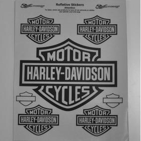 Adesivo Refletivo M2 Carro Moto Bau Capacete Harley Davidson