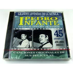 Pedro Infante Canciones Originales De Sus Peliculas Cd Nuevo